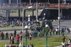Αυτοπροωθούμενο howitzer Στοκ Εικόνες