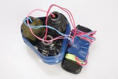 Αυτοσχεδιασμένος εκρηκτικός μηχανισμός στοκ φωτογραφία με δικαίωμα ελεύθερης χρήσης
