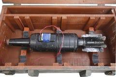 Αυτοσχεδιασμένος εκρηκτικός μηχανισμός IED από το βλήμα δεξαμενών στοκ φωτογραφίες