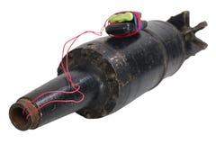 Αυτοσχεδιασμένος εκρηκτικός μηχανισμός IED από το βλήμα δεξαμενών στοκ φωτογραφία με δικαίωμα ελεύθερης χρήσης