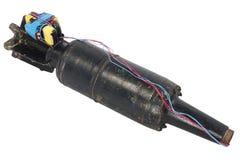 Αυτοσχεδιασμένος εκρηκτικός μηχανισμός IED από το βλήμα δεξαμενών στοκ εικόνα με δικαίωμα ελεύθερης χρήσης