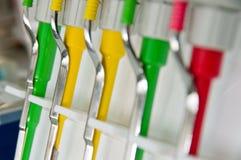 αυτόματα pipetts στοκ εικόνα με δικαίωμα ελεύθερης χρήσης