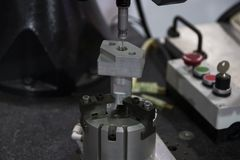 Αυτόματη μετρώντας μηχανή, CMM στοκ εικόνα με δικαίωμα ελεύθερης χρήσης