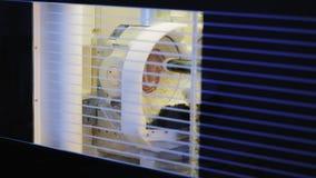 Αυτόματη μηχανή άλεσης διαδικασίας οδοντική απόθεμα βίντεο