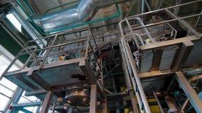 Αυτόματη παραγωγή μηχανών της κόλλας για το φύλλο πλαστικού απόθεμα βίντεο