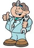 αυτόματος γιατρός αυτο&kap απεικόνιση αποθεμάτων