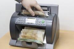 Αυτόματος υπολογισμός χρημάτων στοκ φωτογραφίες με δικαίωμα ελεύθερης χρήσης