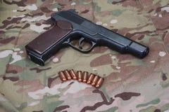 Αυτόματο πιστόλι APS Stechkin Στοκ Εικόνες