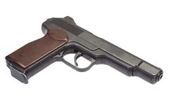Αυτόματο πιστόλι APS Stechkin Στοκ Φωτογραφίες