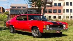 Αυτόματο φεστιβάλ Frankenmuth «15 - 1972 Chevrolet Chevelle Στοκ Εικόνες