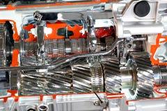 Αυτόματο gearshift κιβωτίων ταχυτήτων φορτηγών στοκ φωτογραφίες με δικαίωμα ελεύθερης χρήσης