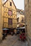 Αυτός γραφική πόλη του Λα Caneda Sarlat στο τμήμα Dordogne, Aquitaine, στοκ φωτογραφίες