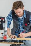 Αυτός καλύτερα ξυλουργός στην πόλη Στοκ Φωτογραφίες