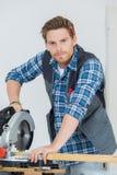 Αυτός καλύτερα ξυλουργός στην πόλη Στοκ φωτογραφία με δικαίωμα ελεύθερης χρήσης