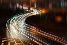 Αυτός νύχτα της Σαγγάης Στοκ Εικόνες