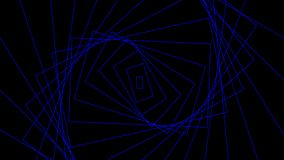 Αυτός ο βρόχος είναι γυρίζει των ορθογωνίων που πέφτουν μακρυά από την οθόνη σε έναν άνευ ραφής βρόχο απόθεμα βίντεο