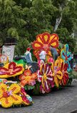 Αυτός φεστιβάλ λουλουδιών της Μαδέρας, Φουνκάλ, Μαδέρα, Πορτογαλία Στοκ φωτογραφία με δικαίωμα ελεύθερης χρήσης