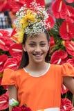 Αυτός φεστιβάλ λουλουδιών της Μαδέρας, Φουνκάλ, Μαδέρα, Πορτογαλία Στοκ Εικόνα