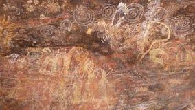 Αυτόχθων ζωγραφική σπηλιών τέχνης βράχου Αυστραλία
