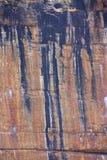 Αυτόχθων τέχνη βράχου στο εθνικό πάρκο Kakadu, Βόρεια Περιοχή, Αυστραλία Στοκ Φωτογραφία