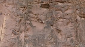 Αυτό είναι ένας ανθρώπινος τοίχος πετρών στοκ εικόνες