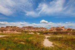 Αυτό είναι εθνικό πάρκο Badlands στη νότια Ντακότα Στοκ φωτογραφία με δικαίωμα ελεύθερης χρήσης