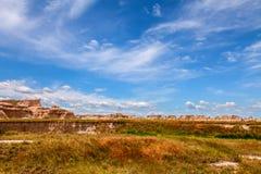 Αυτό είναι εθνικό πάρκο Badlands στη νότια Ντακότα Στοκ εικόνα με δικαίωμα ελεύθερης χρήσης