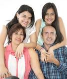 Αυτό είναι ευτυχής οικογένεια Στοκ εικόνες με δικαίωμα ελεύθερης χρήσης