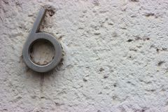 Αυτό είναι ο αριθμός μου έξι στοκ εικόνες με δικαίωμα ελεύθερης χρήσης