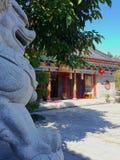 Αυτό είναι το τοπίο της αρχαίας οδού οικοδόμησης σε Huizhou, Κίνα στοκ εικόνα