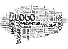 Αυτό που κάνει το χρώμα λογότυπών σας πέστε για το σύννεφο του επιχειρησιακού Word σας απεικόνιση αποθεμάτων