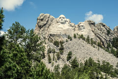 Αυτό το έδαφος είναι το έδαφός μας | Τοποθετήστε Rushmore Στοκ φωτογραφία με δικαίωμα ελεύθερης χρήσης