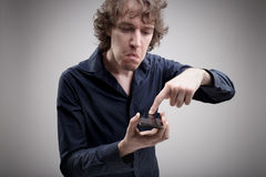 Αυτό το τηλέφωνο απορροφά και το μισώ Στοκ εικόνες με δικαίωμα ελεύθερης χρήσης