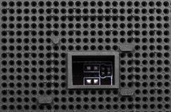 Αυλάκωση για τον επεξεργαστή Στοκ φωτογραφία με δικαίωμα ελεύθερης χρήσης