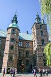 Αυλάκωση Rosenborg Στοκ Εικόνες