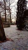 αυλή Στοκ εικόνα με δικαίωμα ελεύθερης χρήσης