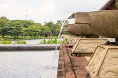 Αφήστε το σύστημα πλυσίματος νερού Στοκ Φωτογραφίες