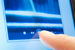 αφή παιχνιδιού κουμπιών Στοκ φωτογραφία με δικαίωμα ελεύθερης χρήσης