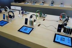 Αφή Ipod στο κατάστημα μήλων Στοκ Εικόνες
