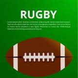 αφίσα αμερικανικού ποδοσφαίρου, έμβλημα και πρότυπο διανυσματικό de φυλλάδιων Στοκ Εικόνες