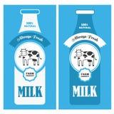 Αφίσα γάλακτος Στοκ φωτογραφίες με δικαίωμα ελεύθερης χρήσης