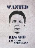 αφίσα επιθυμητή Στοκ φωτογραφία με δικαίωμα ελεύθερης χρήσης