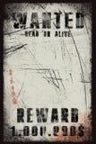 αφίσα επιθυμητή διανυσματική απεικόνιση
