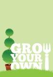 Αφίσα κήπων στοκ φωτογραφία με δικαίωμα ελεύθερης χρήσης