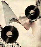 αφίσα μουσικής αναδρομι& στοκ φωτογραφία με δικαίωμα ελεύθερης χρήσης