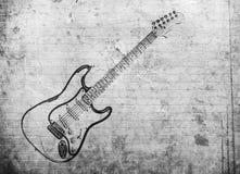Αφίσα μουσικής ροκ Grunge διανυσματική απεικόνιση