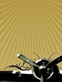 αφίσα Πολεμικής Αεροπο&r Στοκ Εικόνα