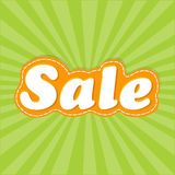 Αφίσα πώλησης Στοκ Εικόνες