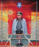 Αφίσα του Augusto Pinochet, Χιλή στοκ εικόνες με δικαίωμα ελεύθερης χρήσης