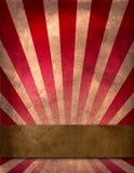 αφίσα τσίρκων Στοκ Εικόνα